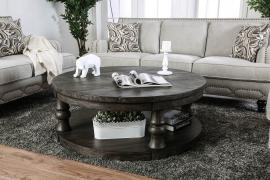 Mika by Furniture of America Antique Gray CM4424GY-C Coffee Table