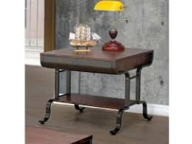 Newbridge I by Furniture of America CM4452E End Table