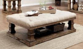 Granard by Furniture of America Natural Tone CM4457F-C Coffee Table