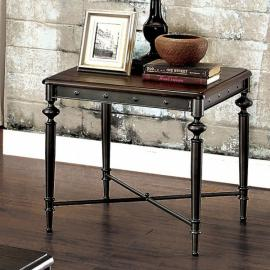 Ballina by Furniture of America CM4460E End Table