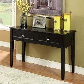 Yulisa by Furniture of America Black CM4704-S Sofa Table