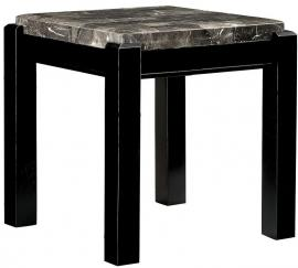 Gladstone lll by Furniture of America CM4823BK-E End Table