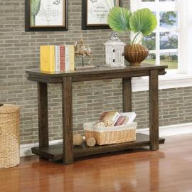 Gijon by Furniture of America Walnut CM4866S Sofa Table