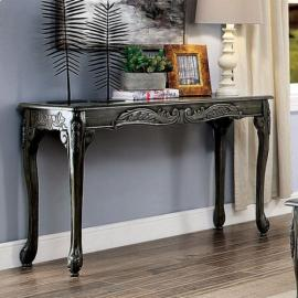 Chesire Gray Finish by Furniture of America  Collection CM4914GY-S Sofa Table
