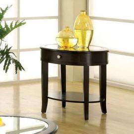 Silver Mist  by Furniture of America CM4950E End Table