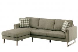 Hera Soft Chenille Sectional CM6857 by Furniture of America