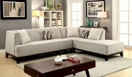 Sofia Collection CM6861BG Sectional Sofa