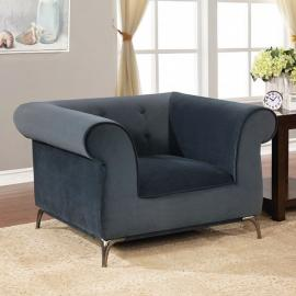 Gresford Gray Fabric Chair CM6952-CH by Furniture of America