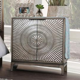 Kamalah Antique Gray Finish Night Stand CM7521N by Furniture of America