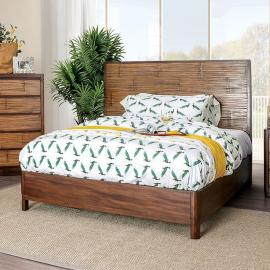 Covilha Antique Brown Finish California King Bed CM7522CK by Furniture of America