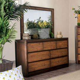 Covilha Antique Brown Finish Dresser CM7522D by Furniture of America