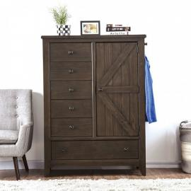 Westhorpe Dark Walnut Finish Armoire CM7523AR by Furniture of America