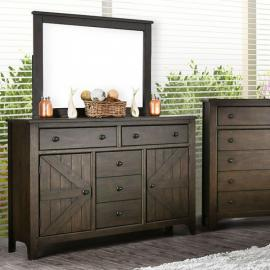 Westhorpe Dark Walnut Finish Dresser CM7523D by Furniture of America