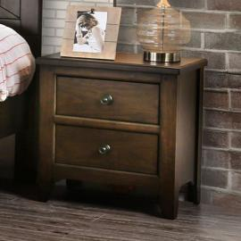 Westhorpe Dark walnut Finish Night Stand CM7523N by Furniture of America
