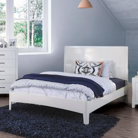 Deanne White Finish Full Bed CM7527WHF by Furniture of America