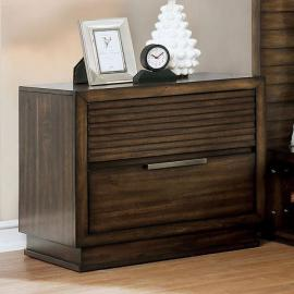 Torino Walnut Finish Night Stand CM7543N by Furniture of America