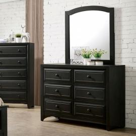 Kirsten Charcoal Finish Dresser CM7547GY-D by Furniture of America