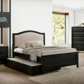 Kirsten Charcoal Finish Twin Bed CM7547GY-T by Furniture of America