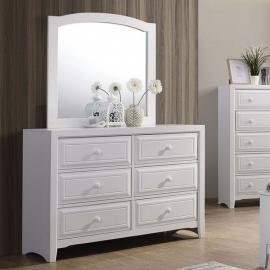 Kirsten White Finish Dresser CM7547WH-D by Furniture of America