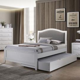 Kirsten White Finish Full Bed CM7547WH-F by Furniture of America