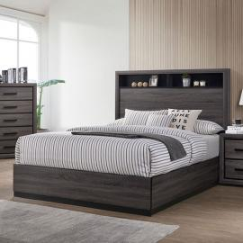 Conway Gray Finish California King Bed CM7549CK by Furniture of America