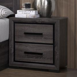 Conway Gray Finish Night Stand CM7549N by Furniture of America