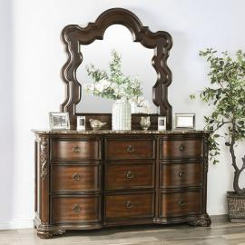 Arcturus Brown Cherry Finish Dresser CM7859D by Furniture of America