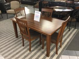 CLEARANCE 5 PC Dining Set (Table and 4 Chairs)