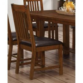 Buchanan D2514-20 Brown Mahogony Dining Height Chair Set of 2