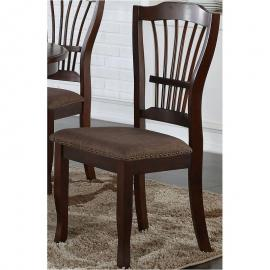 Bixby D2541-20 espresso Dining Height Chair Set of 2