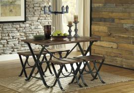 Ashley - Freimore (D311-225) Rustic 5pc. Dining Table Set