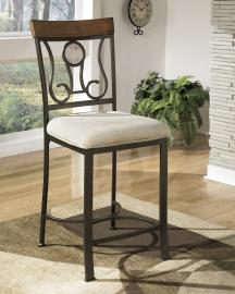 Ashley - Hopstand  D314-124 - Wood / Metal Counter Height Barstool