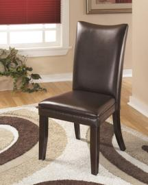 Ashley D357-01 Charrell Dining Chair Set of 2 in Medium Brown