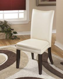Ashley D357-02 Charrell Dining Chair Set of 2 in Ivory