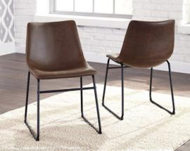 Ashley D372-01 Centiar Dining Chair Set of 2 in Brown