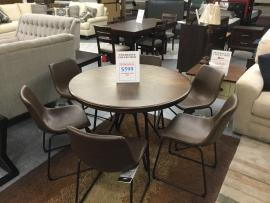 CLEARANCE 7 PC Dining Set (Table and 4 Chairs) CERRITOS STORE ONLY