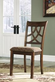Ashley D436-01 Leahlyn Dining Chair Set of 2 in Medium Brown