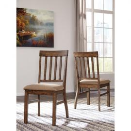 Ashley D448-01 Zilmar Dining Chair Set of 2 in Brown