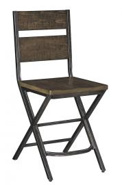 "Ashley - Kavara D469-124 Wood/Metal 24"" Barstool (Set of 2)"
