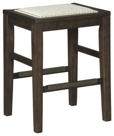Ashley Hallishaw Dark Brown D498-024 Bar Stool Set of 1