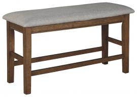 Ashley Glennox Gray & Brown D503-09 Counter Height Bench