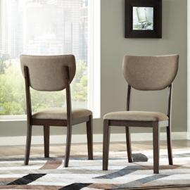 Ashley D517-02 Joshton Dining Chair Set of 2 in Dark Brown