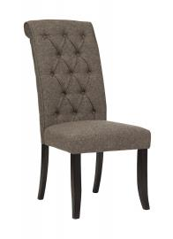 Ashley - Tripton D530-02 Graphite Linen Dining Chair (Set of 2)
