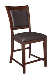 Ashley D564-124 Collenburg Barstool set of 2 in Dark Brown