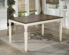 D583-25 Whitesburg by Ashley Rectangular Dining Room Table