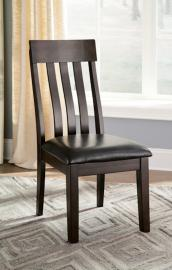 Ashley Haddigan D596-01 Dining Chair (Set of 2) Dark Brown