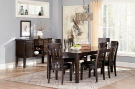 Ashley - Haddigan D596- Regular Dining Room Table Se