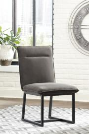 Ashley D600-101 Rozzelli Dining Chair Set of 2 in Dark Brown