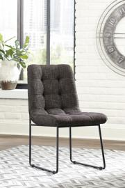 Ashley D600-104 Rozzelli Dining Chair Set of 2 in Dark Brown
