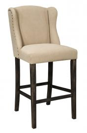 "Ashley - Moriann D608-530 Wing Back 30"" Barstool (Set of 2)"